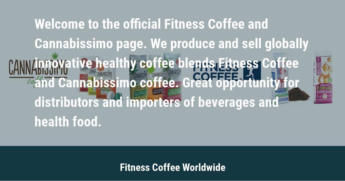 Cannabissimo Coffee, Fitness Coffee, Fitness Tea & Fitness Barley
