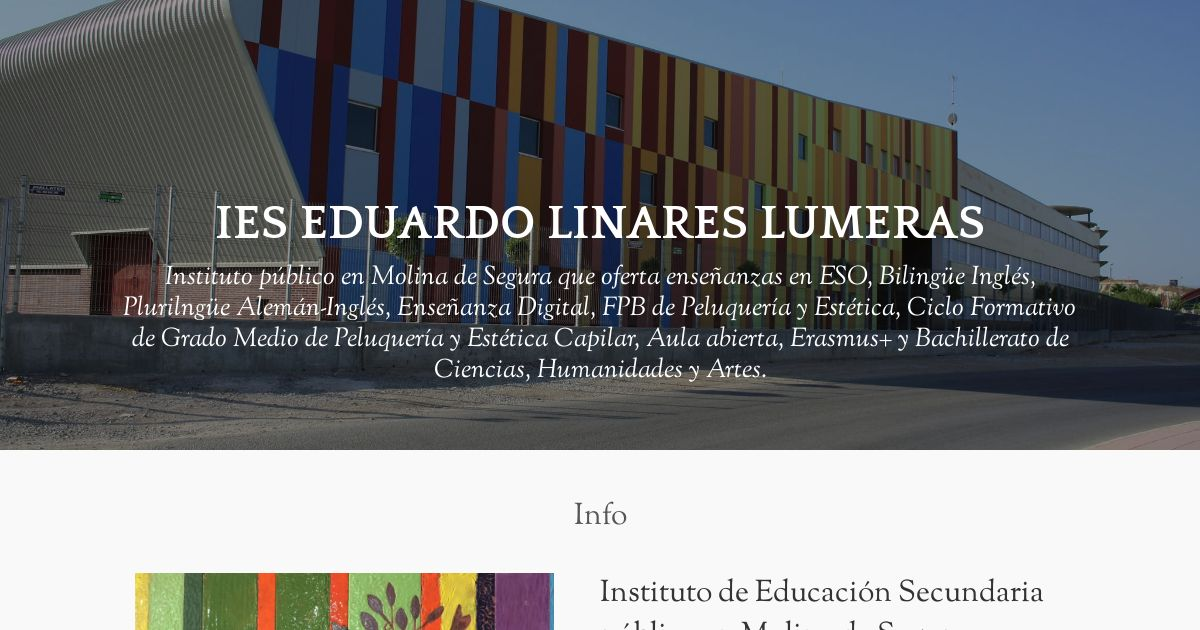 Ies Eduardo Linares Lumeras